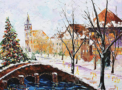 Painting - Christmas Tree by Kevin Brown