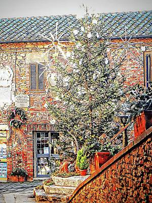 Photograph - Christmas Tree Panicale Umbria by Dorothy Berry-Lound