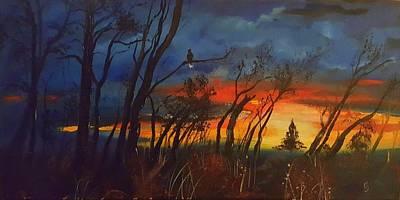 Animal Portraits - Christmas Tree Sunrise    106 by Cheryl Nancy Ann Gordon