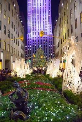 Photograph - Christmas Tree View 2015 by Andrew Kazmierski