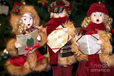 Photograph - Christmas Trio by Vinnie Oakes