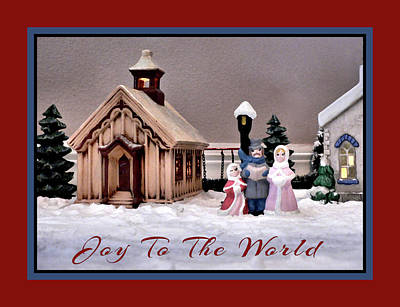 Photograph - Christmas Village Joy by Kathy K McClellan