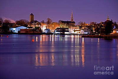 Photograph - Christmas Waterfront by Butch Lombardi