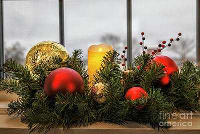 Photograph - Christmas Window 2 by Dennis Hedberg