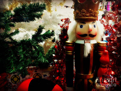 Photograph - Christmas Window - Nutcracker In New York by Miriam Danar