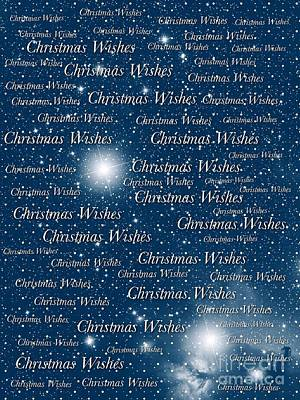 Photograph - Christmas Wishes Greeting Card by Joan-Violet Stretch
