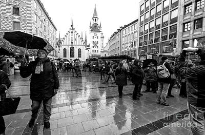 Photograph - Christmastime In Munich by John Rizzuto