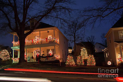 Photograph - Christmastown, Usa by Jill Lang