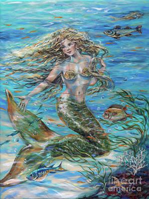 Painting - Christophe Siren by Linda Olsen
