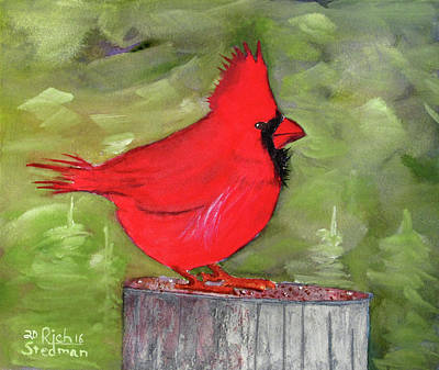 Painting - Christopher Cardinal by Rich Stedman