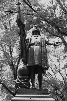 Photograph - Christopher Columbus Central Park by Christopher Kirby