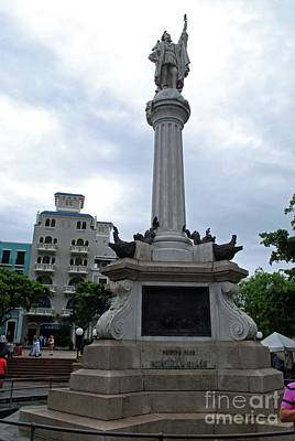 Photograph - Christopher Columbus by Gary Wonning