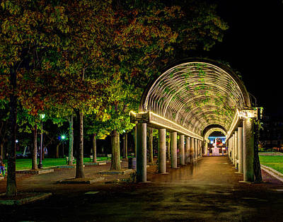 Photograph - Christopher Columbus Park 3765 by Jeff Stallard