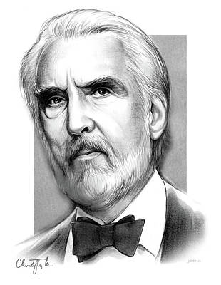Drawings Rights Managed Images - Christopher Lee Royalty-Free Image by Greg Joens