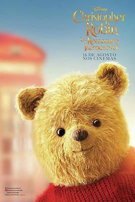 Mixed Media - Christopher Robin  by Movie Poster Prints