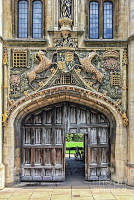 Photograph - Christ's College by Delphimages Photo Creations