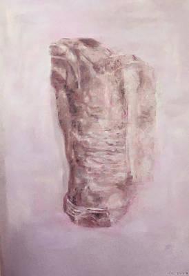 Drawing - Christus Patiens  by Paez ANTONIO