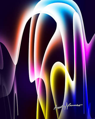 Chromasine Art Print by Anthony Caruso