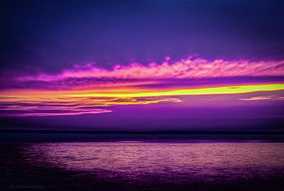 Sunset Photograph - Chromatic Sunset by Erich Grant
