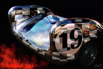 Lotus Sportscar Photograph - Chrome Bat by Alan Olmstead