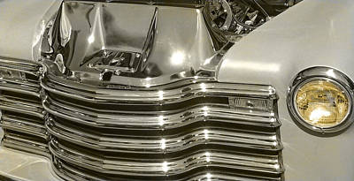 Photograph - Chrome Chevy Pickup by Thom Zehrfeld