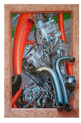 Chrome Chopper Original by Terry Stephens