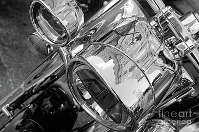 Photograph - Chrome Details  by John S