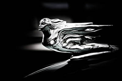Photograph - Chrome Hood Ornament by Athena Mckinzie