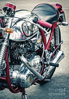 Photograph - Chrome Retro Triton by Tim Gainey