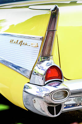 Muscle Cars Photograph - Chrome Signal by Geoff Mckay