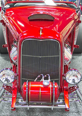 Barrett Jackson Wall Art - Photograph - Chrome by Wayne Vedvig