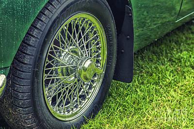 Photograph - Chrome Wheel by Jim Orr