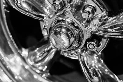 Photograph - Chrome Wheel by Steven Green