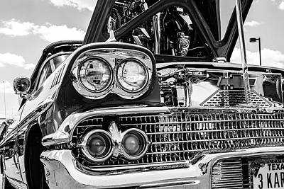 Photograph - Chromed Impala by SR Green