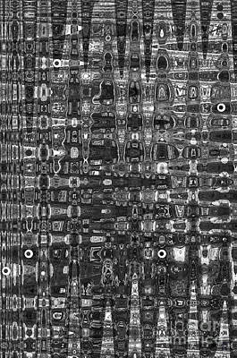 Chromosome 22 Bw Art Print by Diane E Berry