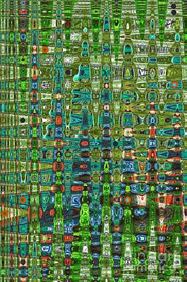 Chromosome 22 Art Print by Diane E Berry