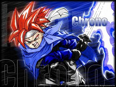 Color Digital Art - Chrono Trigger by Maye Loeser