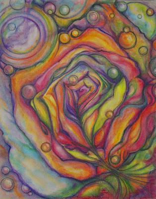 Chrysalis Original by Caroline Czelatko