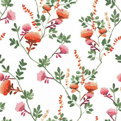 Digital Art - Chrysanthemum, 2017 by Marni Stuart