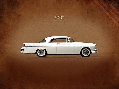Chrysler 300 Photograph - Chrysler 300b 1956 by Mark Rogan
