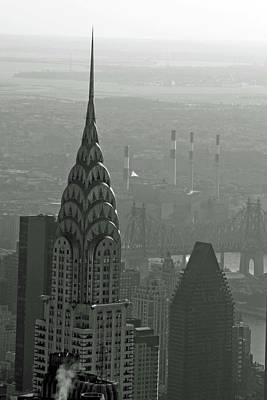 Photograph - Chrysler Building 02 Bw - New York by Pamela Critchlow