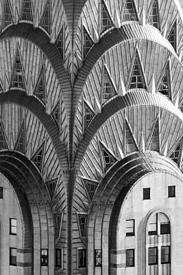 Photograph - Chrysler Building Crown by SR Green