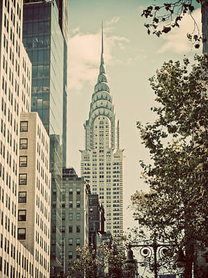 Chrysler Building Art Print by Darren Martin