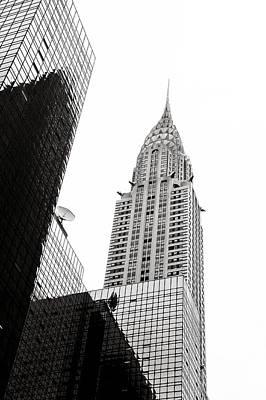 Arquitectural Photograph - Chrysler Building by Ezequiel Rodriguez Baudo