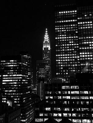 Photograph - Chrysler Building From The Waldorf V by Robert Meyers-Lussier