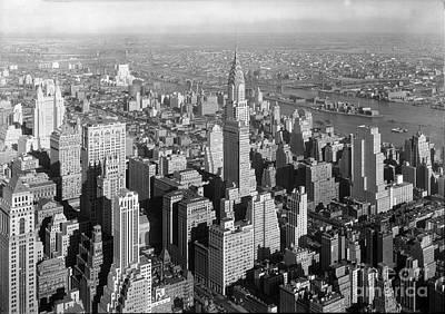 Chrysler Building Midtown Manhattan New York City  Art Print by Celestial Images