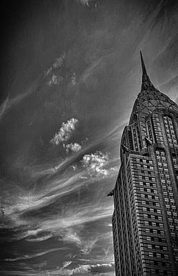 Chrysler Building Nyc Art Print by Martin Newman