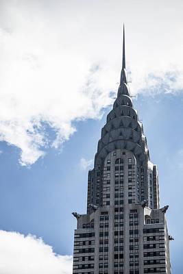 Photograph - Chrysler Building by Robert J Caputo