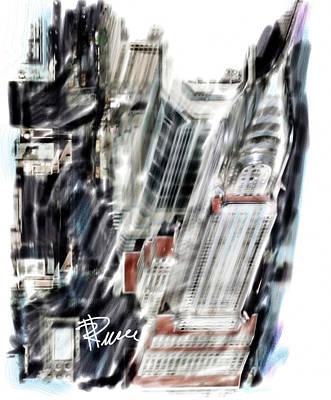 Chrysler Building Digital Art - Chrysler Building by Russell Pierce