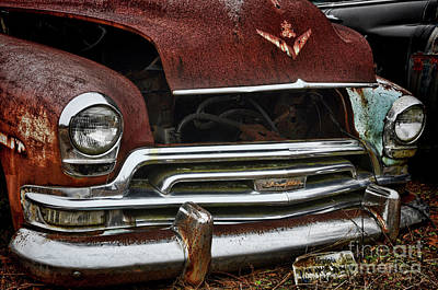 Photograph - Chrysler Chrome by Randy Rogers